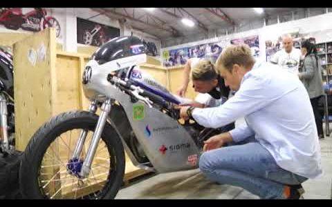 Inspirium, Боневіль, найшвидший мотоцикл, рекорд, Харківська команда мотоциклістів, Ярослав Лутицький