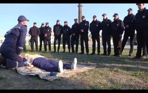 ДСНС, міжвідомчі навчання, патрульні, поліцейські, Харків, харківські патрульні