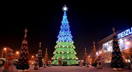 День Святого Николая, Киев, самая высокая елка Украины, Новый год, новости Харькова, новогодняя елка, Харьков, харьков новости
