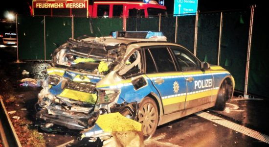 ДТП у Німеччині: українець протаранив поліцейське авто, є загиблі