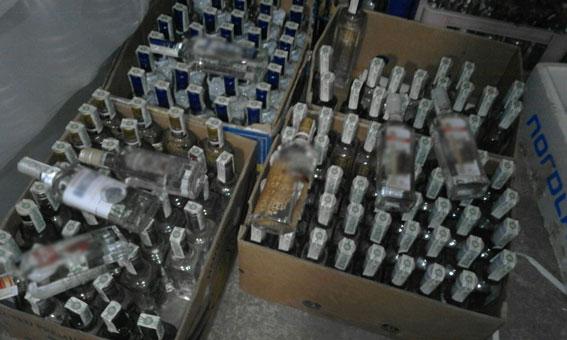В Винницкой области фальсификаты полторы тонны спирта и 900 литров алкоголя