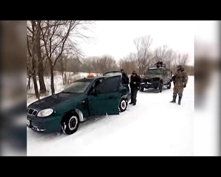 авто, АТО, боєприпас, військові, граната, кримінальні новини, Луганщина, поліція, правоохоронці, Щастя