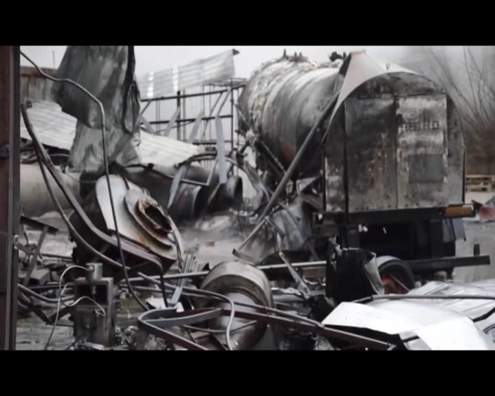 вибух,Дніпропетровщина,заводПолімер Акація,кримінальніновини,НовиниУкраїни,Новомосковськ,пожежа