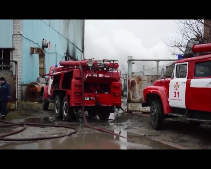 vibuh Dnipropetrovshhina zavod Polimer Akatsiya kriminalni novini Novini Ukrayini Novomoskovsk pozhezha