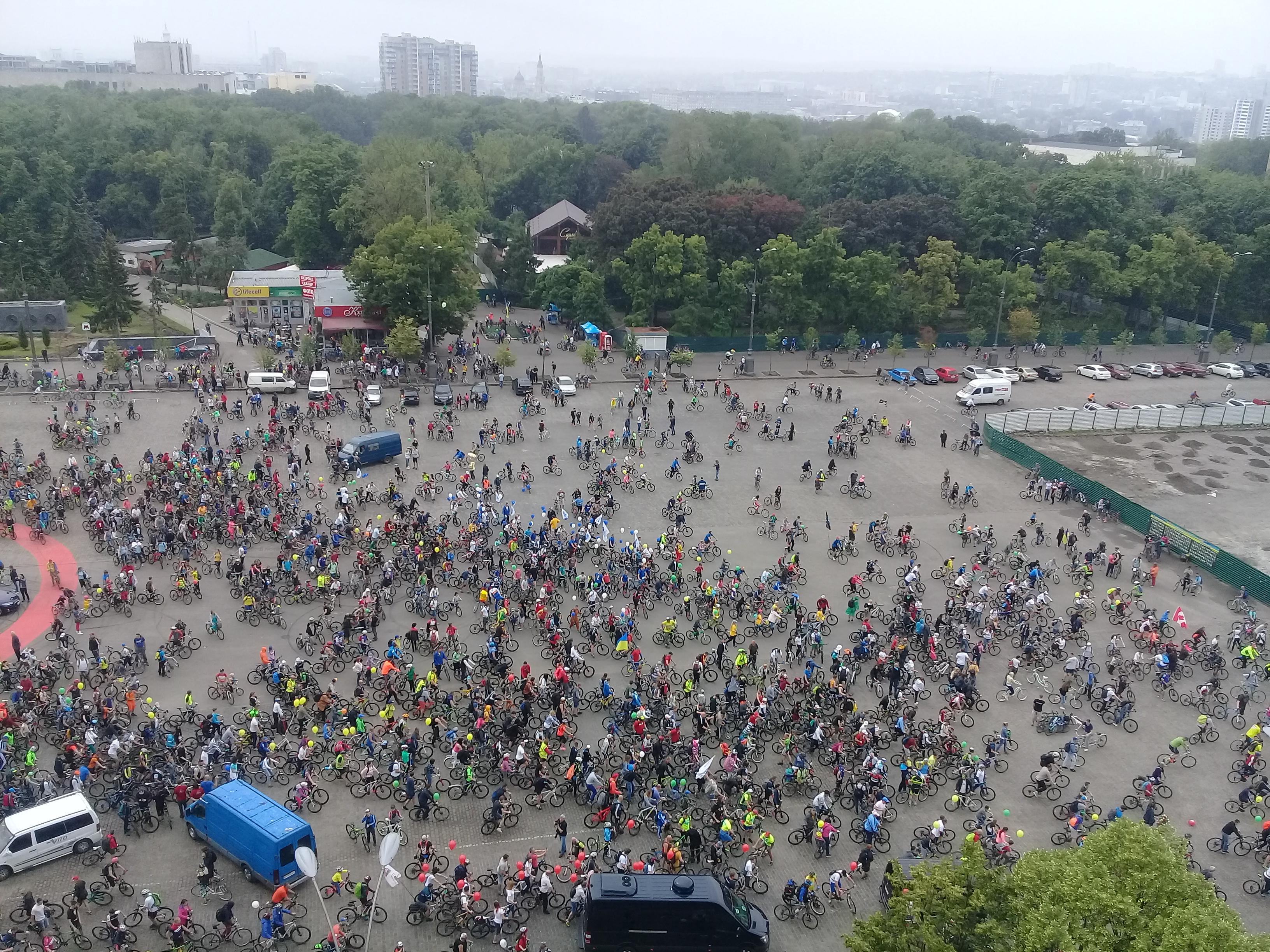 Харківський Велодень зібрав 13 тисяч учасників