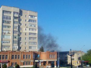 У Балаклії після вибухового четверга тиша на ранок було чутно поодинокі вибухи
