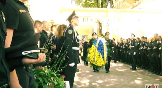 У Харкові попрощалися з патрульним Дмитром Кірієнком