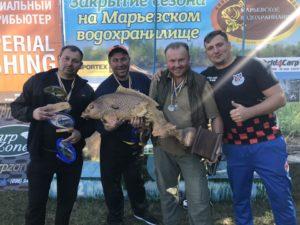 Українська збірна перемогла на Чемпіонаті світу з карпфішингу