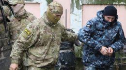 Так званий суд над полоненими Росією українськими моряками та допит ФСБ (відео)