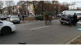 У Харкові аварія зі швидкою Нацгвардії, є постраждалі