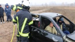 У Харкові рятувальники провели тренування у разі виникнення аварій