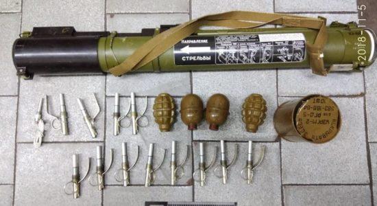 У метро Харкова затримали чоловіка із гранатометом та вибуховим багажем