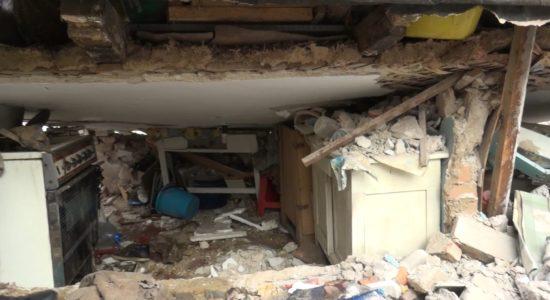 У Дніпрі через вибух газу розсипалися стіни дому