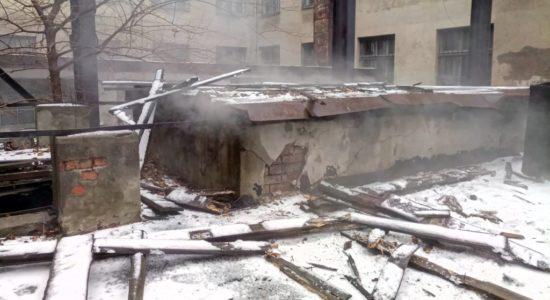 У Дніпрі ліквідували пожежу в адмінкорпусі ВНЗ