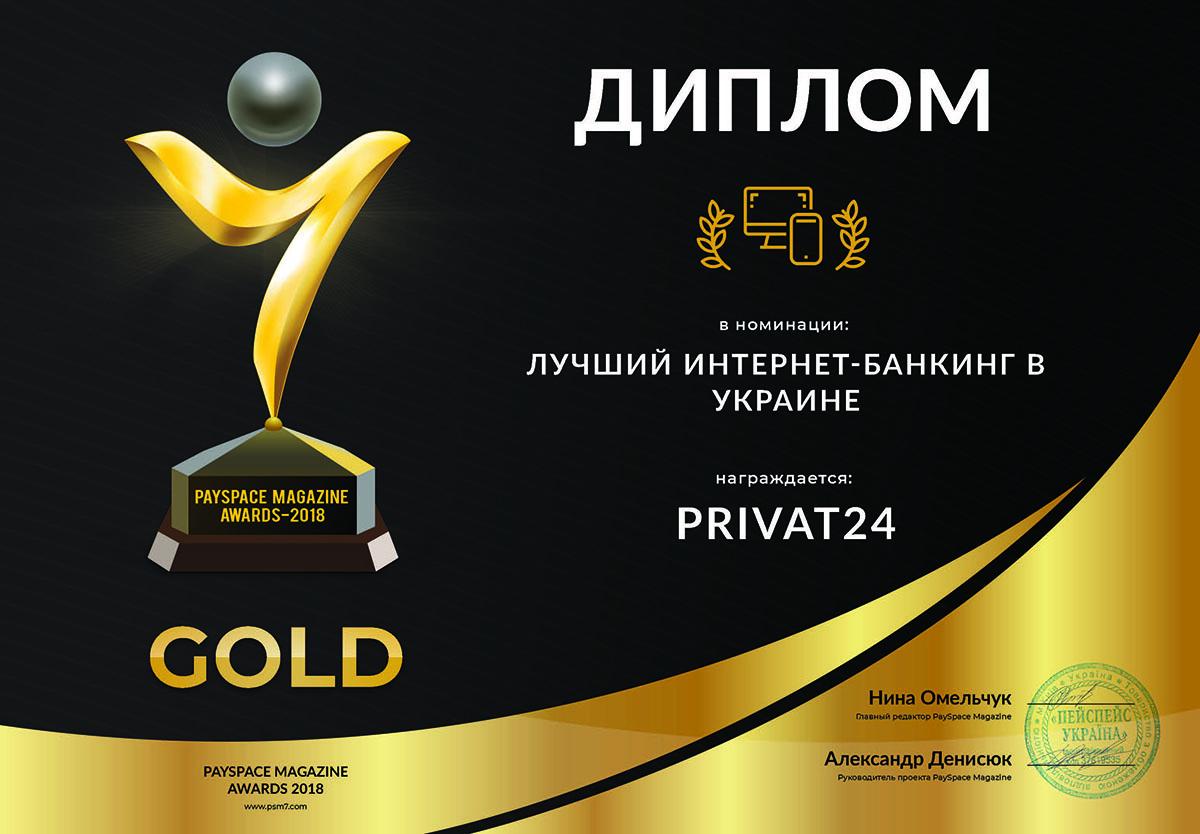 Ukraintsy nazvali Privat24 luchshim onlayn-bankom rok