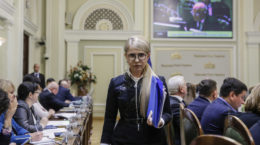 «Batʹkivshchyna» vysune Tymoshenko u prezydenty v denʹ 100-richchya Sobornosti