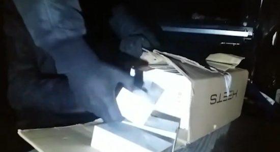 Контрабанда стіків для куріння в турецьких комбайнах