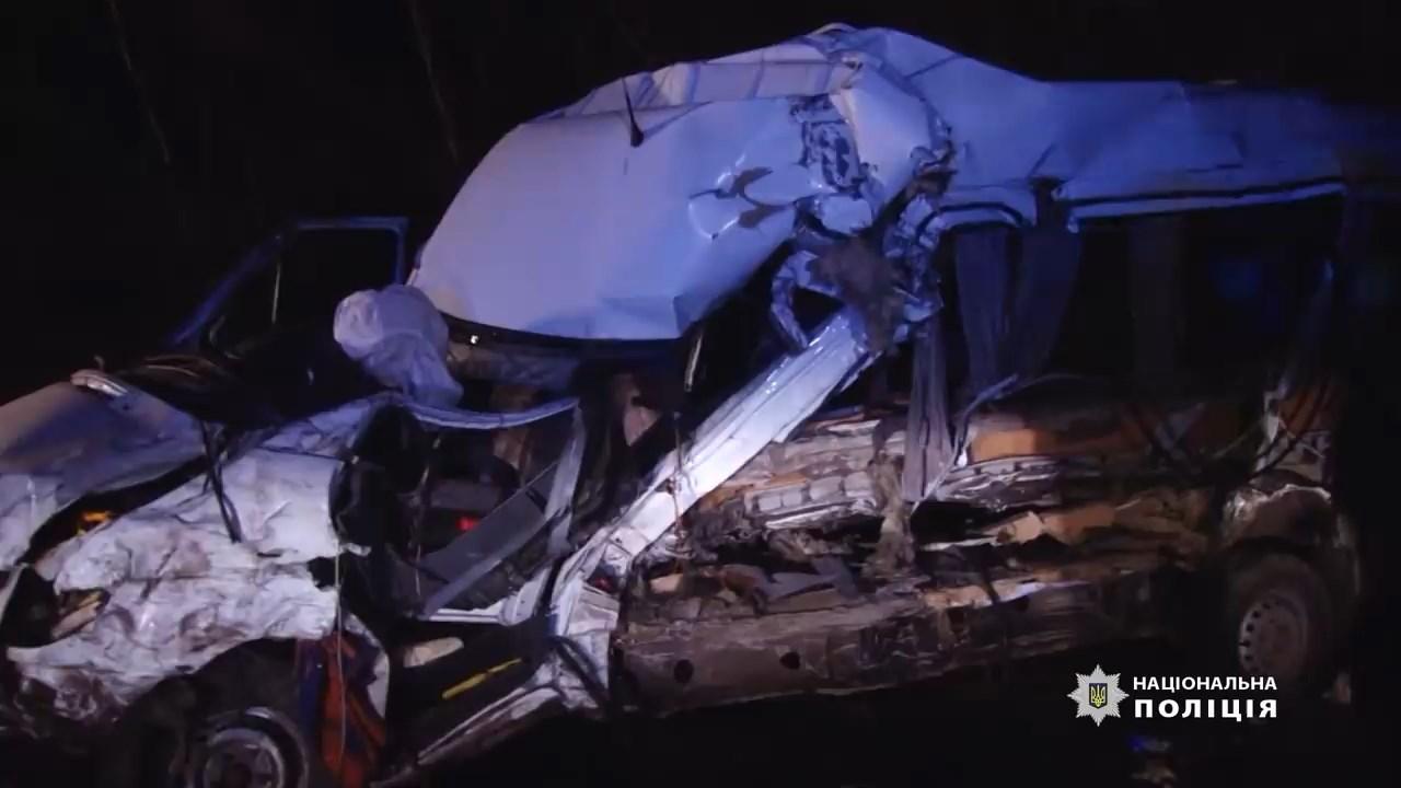 На Одещині в аварії загинули двоє поліцейських, четверо людей в лікарні