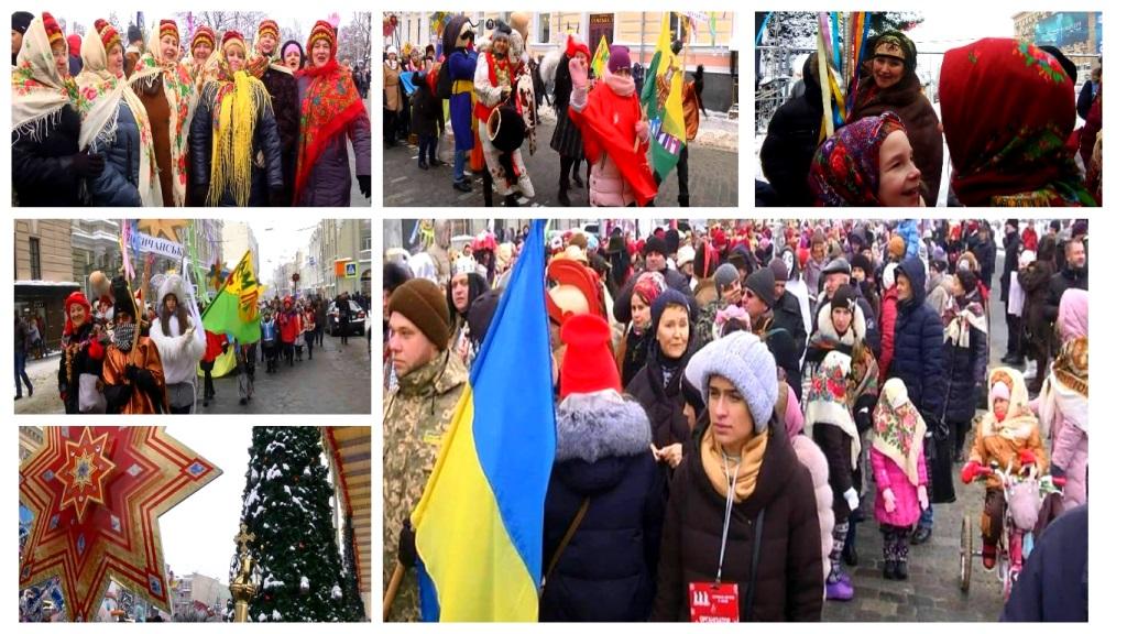 У Харкові заколядували більше тисячі людей - масштабний Вертеп-фест