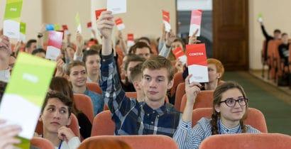 На фіналі проекту «Молодь дебатує» у Харкові школярі обговорять насильство у відеоіграх та електронне голосування (16-17.02)