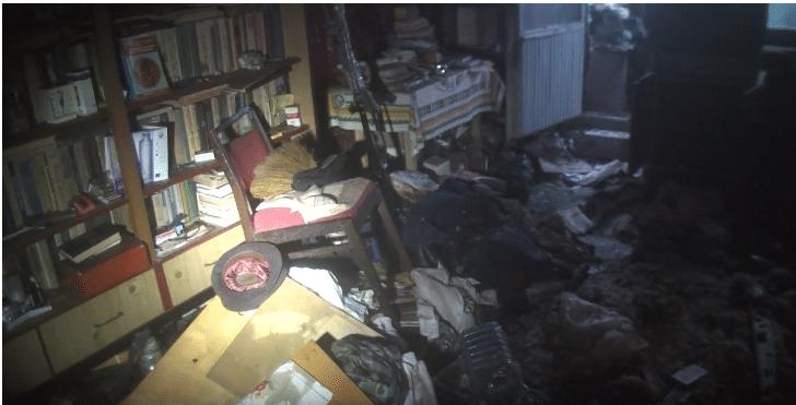 V Khar'kove v pozhare pogib 80-letniy muzhchina, predpolozhitel'no iz-za kureniya