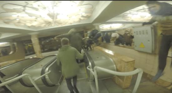 У харківському метро хуліганський пікет проти підвищення проїзду