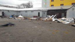 Житомирська область, впала покрівля