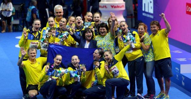 Харківські синхроністки стали чемпіонками світу